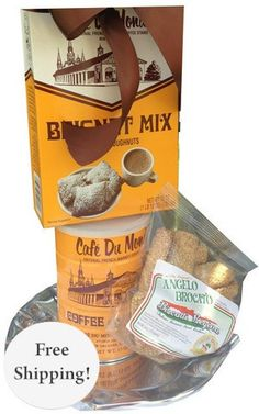 Sit down with a hot cup of New Orleans coffee and authentic beignets, straight from the historic New Orleans French tradition.