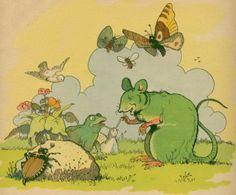 Benjamin Rabier - La souris verte