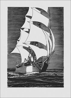 Moby Dick or, The Whale. Illustrated by Rockwell Kent. - Book Graphics