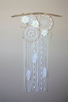 Pink Gold Nursery, Tribal Nursery, Dream Catcher Boho, Dream Catchers, White Wall Clocks, Flower Box Gift, Shabby Chic Crafts, Gifts For Office, Decoration