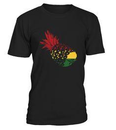 Rasta pinapple  T-Shirts  Funny Pineapple T-shirt, Best Pineapple T-shirt