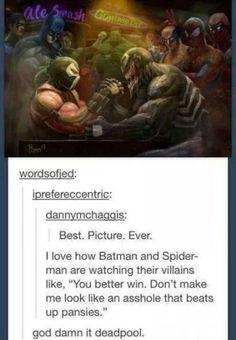 Deadpool....