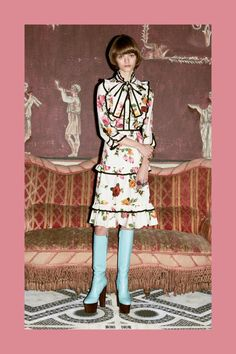 Alessandro Michele Took the Quirkiness to the Next Level for Gucci Pre-Fall - Fashionista