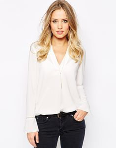 Supertrash Boho Blouse With V Neck