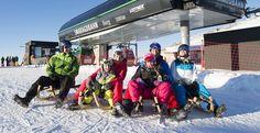 Familienspaß beim Rodeln in Bramberg/Wildkogel, Salzburger Land Zell Am See, Berg, Snowshoe, Ski Trips, Winter Vacations, Explore