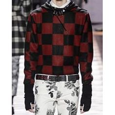 Dior Homme Winter 2016/2017 Checked Jumper as seen on Zayn Malik