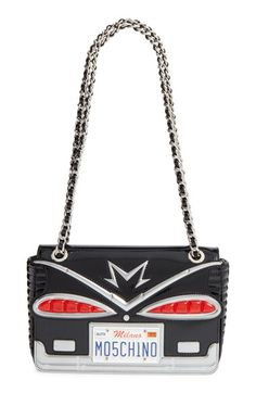 Moschino Moschino 'Small Cadillac' Shoulder Bag available at #Nordstrom