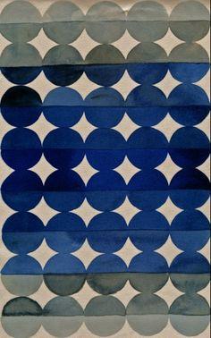 #so65 #nel blu dip into di blu Luli Sanchez, Dot stripe fade