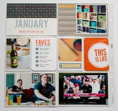 love how she printed the instagram square pic onto a 3x4 size canvas with room for journaling underneath. It makes so much sense to do it that way rather than cut out the square and add it to a grid journaling card like I usually do // nettio designs
