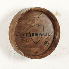 Wine Barrel Plaques | Ballard Designs