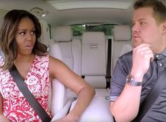 Michelle Obama and James Corden Tease Carpool Karaoke With Beyoncé's Single Ladies | E! Online Mobile