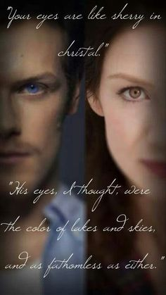 the faces of jamie and claire fraser in the outlander tv series Claire Fraser, Jamie Fraser, Jamie And Claire, Outlander Season 1, Outlander 3, Sam Heughan Outlander, Diana Gabaldon Books, Diana Gabaldon Outlander Series, Outlander Book Series