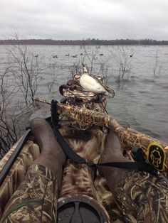 Kayak duck hunting Florida waterfowl