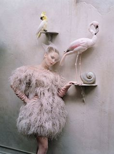 Jennifer Lawrence, Photographer: Tim Walker, W Magazine, October 2012