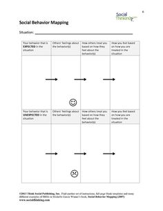 Social Behavior Mapping - Unfilled