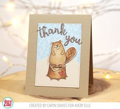 Caryn Davies | AVERY ELLE… WOOD YOU? | thank you