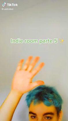 Indie Bedroom Decor, Diy Bedroom Decor For Teens, Cute Diy Room Decor, Cute Room Ideas, Indie Room, Room Ideas Bedroom, Chambre Indie, Diy Room Decor Videos, Girl Bedroom Designs