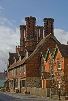 Now those are some Chimney pots!