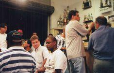 """Filmagem de """"A Revolta do Videotape"""", curta-metragem de Rogério de Moura (1999)"""