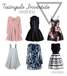 Triângulo Invertido - Vestidos