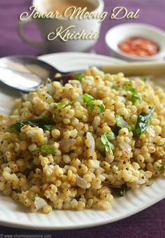 This sorghum (jowar) recipe says to soak overnight, then cook.