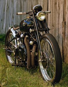'52 Vincent Black Lightning.
