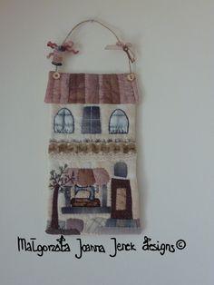 Quilted XXXL Tag : Craft House designed and hand von MJJenekdesigns