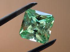 Loose Merelani Mint Garnet | Precision Cut Merelani Garnet Diamonds by Lauren
