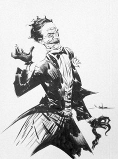 the Joker, by Jae Lee. Comic Book Artists, Comic Books Art, Comic Art, Superhero Sketches, Robin Tim Drake, Jae Lee, Dc Comics Characters, Animation Reference, Batman Art