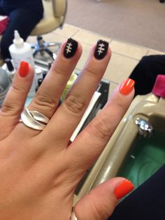 Cleveland Browns nails!