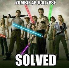 Zombie Apocalypse Solved!