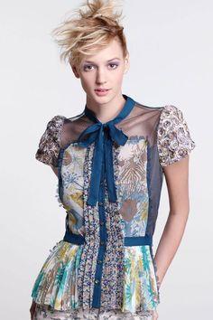 Free Blouse Sewing pattern