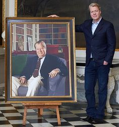 Earl Spencer: Father's Day portrait I made to 'Di's dad' 25 years ago