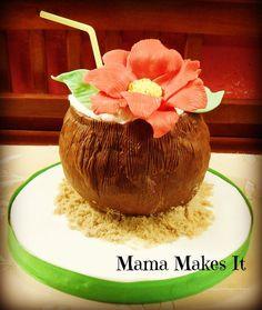 8 x Summer Cocktail papier plaque Hawaïen Hula Plage Tropical 18 cm buffet de desserts