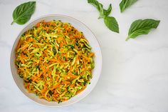 Carrot and Zucchini Hash Recipe