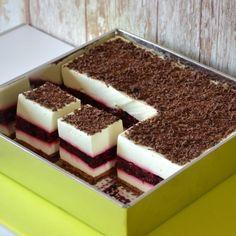 Sprawdź to, zjedz to! Gourmet Recipes, Cake Recipes, Cooking Recipes, Polish Cake Recipe, Momofuku, Mousse, Food Cakes, Cheesecakes, Delicious Desserts