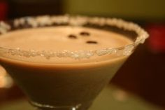 """Young Grasshopper: And I Dub Thee The Jamaican Latte {Coffee & Myer's Dark Rum """"Martini"""" Recipe}"""