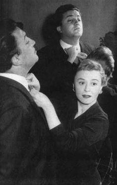 Federico Fellini and Giulietta Masina #GiuliettaMasina #actress #italian…