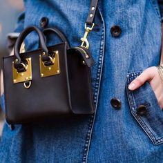 Mini bolso #sophie de piel auténtica en diascomoestos.com