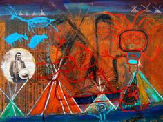 Jane+Ash+Poitras Aboriginal Artists, Native American Artists, Contemporary Artists, Nativity, Ash, Fine Art, Abstract, Art Work, Canada