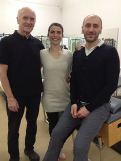 With Alan Herdman and Mauro Ossola