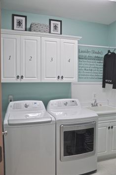 Best 20 Laundry Room Makeovers - Organization and Home Decor Laundry room decor Small laundry room organization Laundry closet ideas Laundry room storage Stackable washer dryer laundry room Small laundry room makeover A Budget Sink Load Clothes Laundry Room Remodel, Laundry Room Cabinets, Laundry Closet, Laundry Room Organization, Small Laundry, Laundry Room Design, Laundry In Bathroom, Diy Cabinets, Bathroom Plumbing