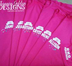 Custom Pediatric Nurse Personalized Shirts
