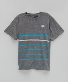 Loving this Heather Graphite Old Pike Tee - Boys on #zulily! #zulilyfinds