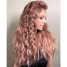 Metallic Rose Gold ~ Hair Color