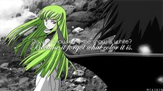I loved this quote from code geass I have no idea why.