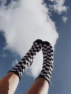 High Socks, Fashion, Moda, Fashion Styles, Stockings, Fasion