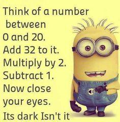 Still dark...
