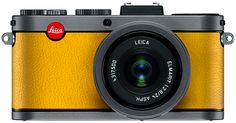 Leica's Lemon Yellow X2 'à la carte' digital compact camera is the perfect Easter gift