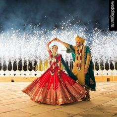 #Repost @weddingsutra: If you need a hold-your-breath showstopping moment this is it - an incredible fireworks display to mark their union. Wedding Planners- @FrozenAppleWeddings (Udaipur) Lehnga- @SabyasachiOfficial Makeup- @_ShrutiSharma (Delhi NCR) Photo Courtesy- @TheWeddingStoryIndia (Mumbai) #fireworks #firstdance #twirl #brideandgroom #weddingshoot #coupleshot #tipsfortobeweds #dreamdestination #reception #destinationweddings #marriage #weddingdecor #weddingelements #groom #bride…